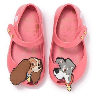 Lady and the Tramp Mini Melissa Shoes